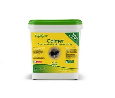 TOPSPEC CALMER FOR HORSES WITH MAGNESIUM AND L-TRYPTOPHAN 3KG