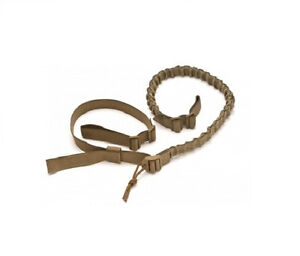 Viking-Tactic-VTAC-2-Point-Quick-Adjust-BUNGEE-Sling-COYOTE-Tan-NEW