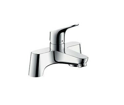 Hansgrohe Focus Single Lever Low Pressure Bath Filler Deck Mounted -