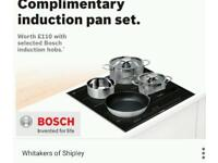 Brand new induction pans