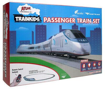 HO-Gauge - Bachmann - TrainKids Acela Passenger Train Set