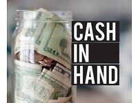 PART TIME HELP WANTED CASH IN HAND NEAR LEAMINGTON, WARWICK OR STRATFORD