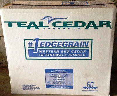 18  Cedar Shingle Shakes Primed Grooved Sidewall Shakes Certigroove Shingles