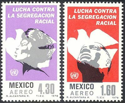 Mexico 1978 Apartheid/Racism/People/Human Rights/Doves/Birds 2v set (n42899)