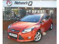 2012 Ford Focus 1.0 EcoBoost Zetec 5 door Petrol Hatchback