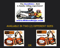 Back Rider Harness for kids - New condition (Black)