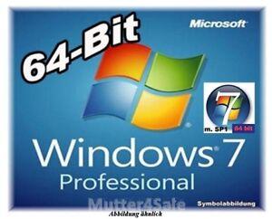 Licence Microsoft Windows 7 Professionnel 32 ou 64 bit