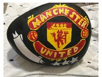Man Utd painted stone