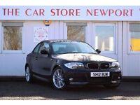 BMW 1 SERIES 2.0 120D M SPORT 2d 175 BHP (black) 2012