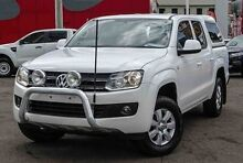 2012 Volkswagen Amarok 2H MY13 TDI400 4Mot Trendline White 6 Speed Manual Utility Parramatta Parramatta Area Preview