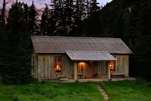 land to build cabin on