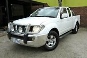 2009 Nissan Navara D40 ST-X White 6 Speed Manual 4D UTILITY Upper Ferntree Gully Knox Area Preview