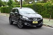 2013 Nissan Dualis J107 Series 4 MY13 +2 X-tronic AWD Ti-L Black 6 Speed Constant Variable Hatchback Medindie Walkerville Area Preview