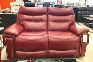 POWER RECLINER SET IN AIR LEATHER (ND 99 )