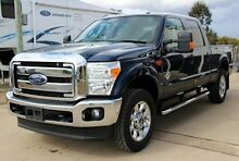 2015 Ford F250 MY15 Super Duty Lariat Blue Jeans 6 Speed Automatic Crewcab Glanmire Gympie Area Preview