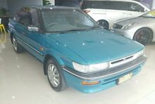 1993 Toyota Corolla  Green Automatic Hatchback Blair Athol Campbelltown Area Preview