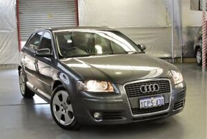 2007 Audi A3 8P Ambition S Tronic Grey 6 Speed Sports Automatic Dual Clutch Hatchback Myaree Melville Area Preview