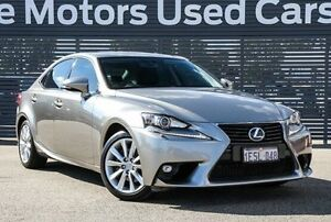 2015 Lexus IS300H AVE30R Luxury Grey 1 Speed Constant Variable Sedan Hybrid Maddington Gosnells Area Preview