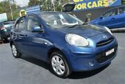 2013 Nissan Micra K13 MY13 ST-L Blue 4 Speed Automatic Hatchback Campbelltown Campbelltown Area Preview