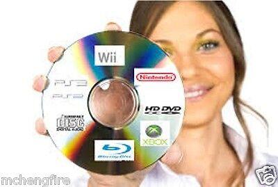 Xbox Disc Repair ( 3 Video Game Disc Repair Service Fix Scratch Resurface Damage Wii Xbox 360 PS3  )