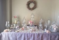 Beautiful Candy Jars for rent