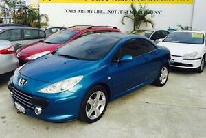 2006 Peugeot 307 T6 CC Dynamic Blue 4 Speed Sports Automatic Cabriolet Welshpool Canning Area Preview
