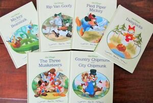 Walt Disney's NURSERY TALES Library Set
