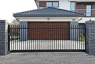 CANTILEVER SLIDING GATE AUTOMATED 10 WIDE