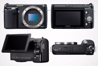 $$$SAVE* Sony NEX-3 bundle, case and many accessories *SAVE$$$ W
