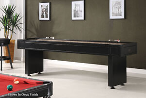 Shuffleboards, Pool Tables, Game Tables In Stock and Ready to Go