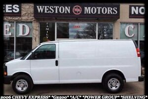 2006 Chevrolet Express G2500*A/C*POWER GROUP*SHELVING*