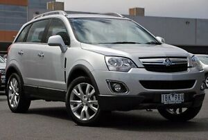 2014 Holden Captiva CG MY14 5 LTZ Silver 6 Speed Sports Automatic Wagon Coburg Moreland Area Preview