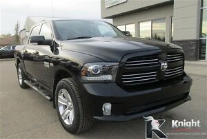 2014 Ram 1500 Sport Heated/Cooled Leather Sunroof Remote Start