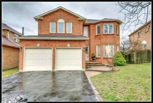 4BR detached house for rent in whitby- $2500