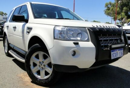 2008 Land Rover Freelander 2 LF Td4 SE White 6 Speed Sports Automatic Wagon Bellevue Swan Area Preview