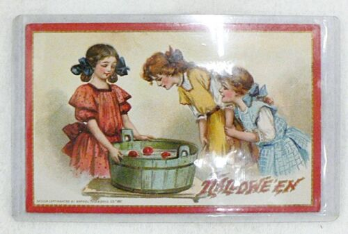 ANTIQUE 1912 HALLOWEEN USED POST CARD