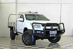 2012 Holden Colorado RG LX (4x4) White 5 Speed Manual Cab Chassis Burleigh Heads Gold Coast South Preview