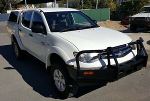 2012 Mitsubishi Triton MN MY12 GLX (4x4) 5 Speed Manual 4x4 Double Cab Utility Burleigh Heads Gold Coast South Preview