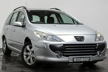 2007 Peugeot 307 T6 XS Silver 4 Speed Sports Automatic Hatchback Rozelle Leichhardt Area Preview