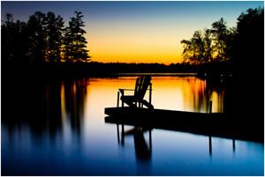 Lakefront Muskoka Cottage for Rent in Huntsville Area with WIFI