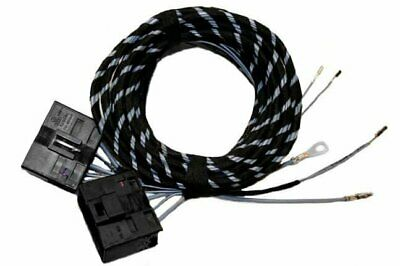 For Skoda Octavia 2 1Z Original Kufatec Cable Loom Heated Seats+Seat Adjustment