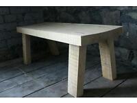 Oak vintage table bench