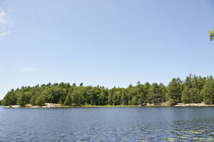 145.2 Acres fronting 1275' on spring fed Heaslip Lake