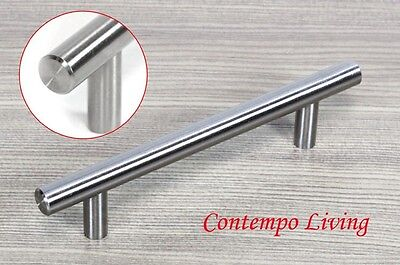 "6"" Solid Stainless Steel Kitchen Cabinet Hardware Bar Pull Handle"