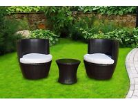 Brand New London Rattan Luxury Richmond Stacking Patio Set Outdoor Garden Furniture