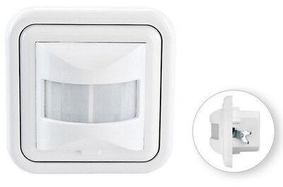 Bewegungsmelder Wand Einbau Infrarot Unterputz für LED geeignet Bewegungssensor