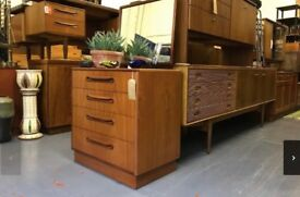G Plan Chest of Drawers Retro Vintage Cabinet Cupboard Sideboard Ercol McIntosh