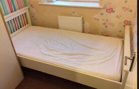 2 X Single Beds Complete With Mattresses in good condition