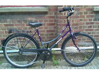 WINORA DUTCH LADIES BIKE from Holland, serviced - warranty, small frame 17 inches - welcome