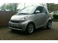 Smart car 451 PASSION fortwo Reg 2012 low milage Good Condition